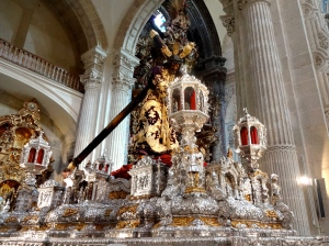 Note: this is NOT the main cathedral of Seville!