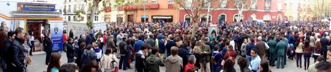 Celebrating Semana Santa in Seville!