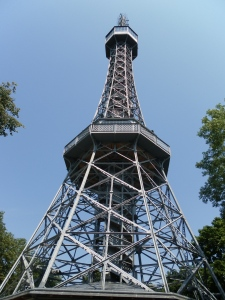 "The Prague ""Eiffel Tower"""