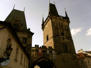 The tower at Charles Bridge