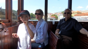 Cruise with Grandma and Grandpa, summer 2012.