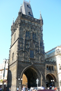 The Powder Tower. There's an interesting little museum inside.