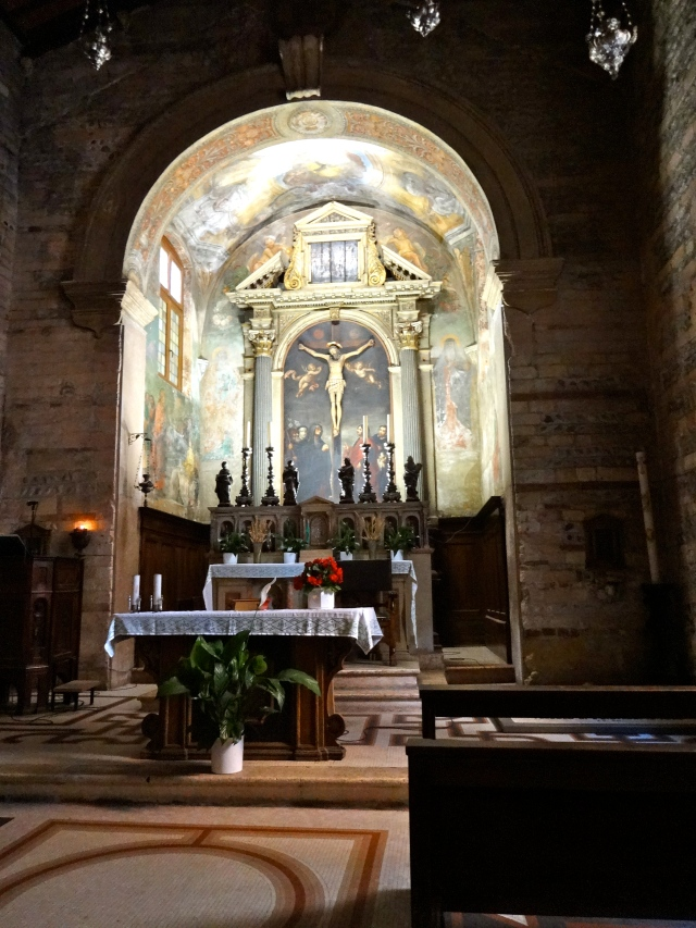 We came across this lovely church called Chiesa San Giovanni in Foro.