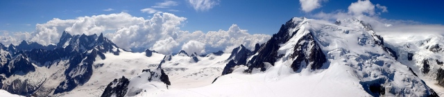, is the highest mountain in the Alps and the European Union.[1] It rises 4,810 m