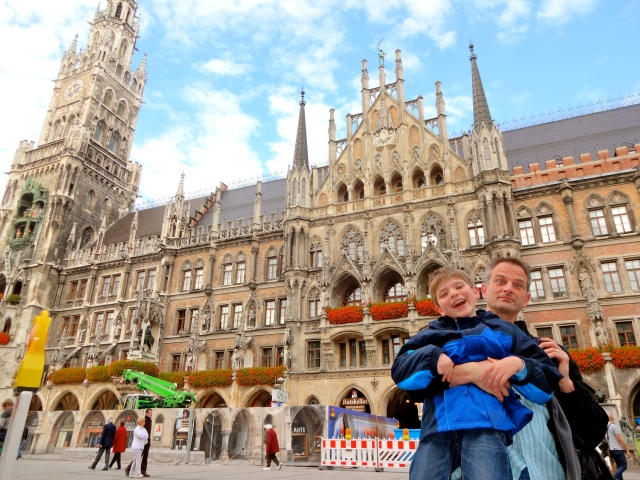 Photo of the day: Munich's Marienplatz