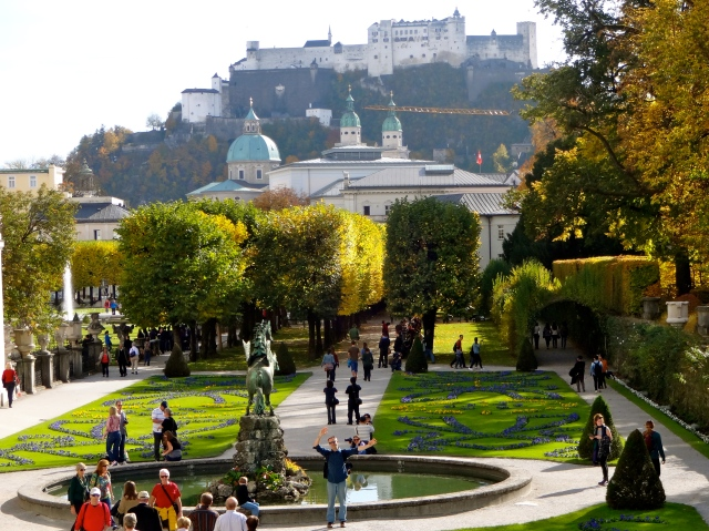 Salzburg: city of Mozart and the Sound of Music!