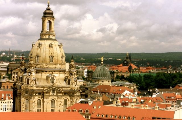 Dresden: my grandfather's home city.  He left in the late 1930's.
