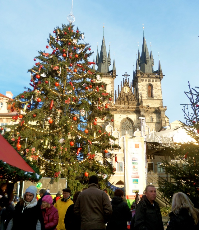 Prague Christmas Market in Old Town Square