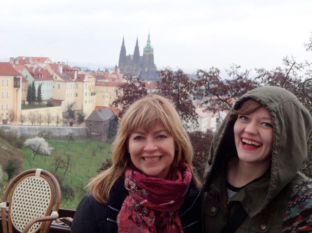 She loved exploring Prague!