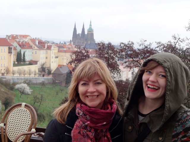 She loved exploring Prague!