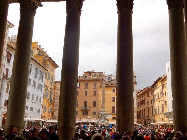 The view from the Pantheon.