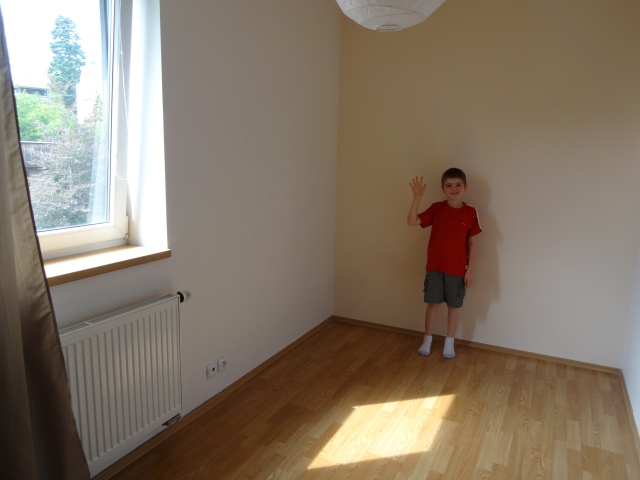 Good-bye room!