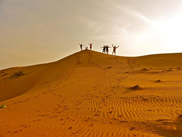 Good-bye, desert!