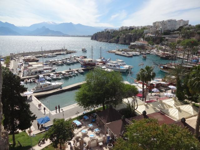 Kaleici's harbor in Antalya