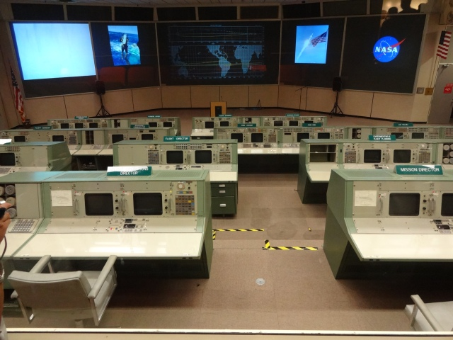 The original control room for the Apollo missions.
